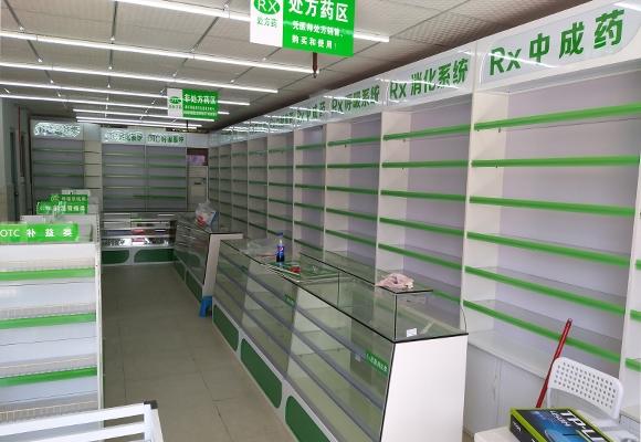 药品展示柜制作安装